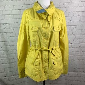 Daughters of the Liberation Yellow Utility Jacket